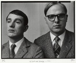 Gilbert & George, by Julian Cottrell - NPG x133162