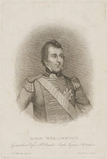 Arthur Wellesley, 1st Duke of Wellington, published by Luigi Fabri, after  Robert Home - NPG D37590
