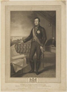 Arthur Wellesley, 1st Duke of Wellington, by James Godby, published by  Edward Orme, after  Domenico Pellegrini - NPG D37591