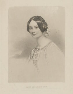 Lady Adelaide Emeline Caroline Law (née Vane), by Joseph Brown, after  John Hayter - NPG D37206