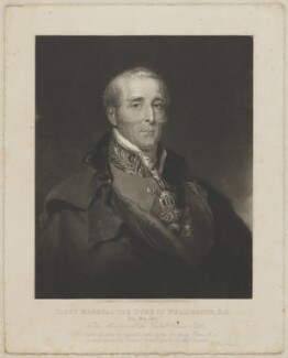 Arthur Wellesley, 1st Duke of Wellington, published by Welch & Gwynne, after  George Dawe - NPG D37598
