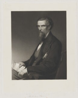 Sir Henry Montgomery Lawrence, by John Robert Dicksee, published by  Henry Graves & Co - NPG D37207