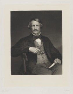 John Laird Mair Lawrence, 1st Baron Lawrence, by John Robert Dicksee, published by  Henry Graves & Co, published 14 May 1864 - NPG D37208 - © National Portrait Gallery, London