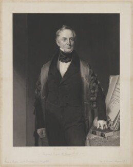 Sir William Lawrence, 1st Bt, by Edward Richard Whitfield, after  Henry William Pickersgill - NPG D37209