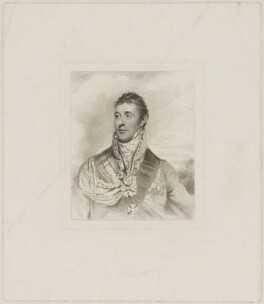Arthur Wellesley, 1st Duke of Wellington, by Henry Meyer, published by  T. Cadell & W. Davies, after  John Jackson, after  Sir William Beechey - NPG D37605