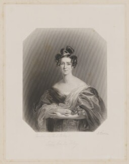 Lady Emily Foley (née Graham), by Joseph Brown, after  Frederick Richard Say - NPG D36989