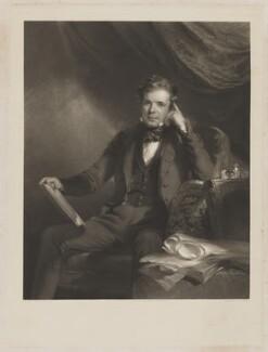 Sir William Webb Follett, by George Raphael Ward, published by  Thomas McLean, after  Frederick Richard Say - NPG D36999