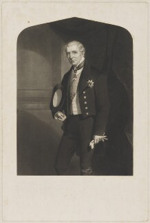 Arthur Wellesley, 1st Duke of Wellington, by Unknown artist - NPG D37608