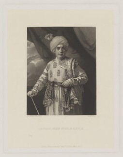John Foote, by James Scott, published by  Henry Graves & Co, after  Sir Joshua Reynolds - NPG D37707
