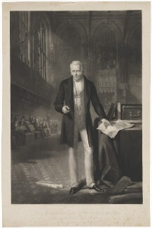 Arthur Wellesley, 1st Duke of Wellington, by George Thomas Payne, published by  Henry Graves & Co, published by  John Finlay - NPG D37609