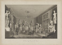 Sir Thomas Lawrence ('The Private Sitting Room of Sir Thos. Lawrence'), published by Archibald Keightley - NPG D37219