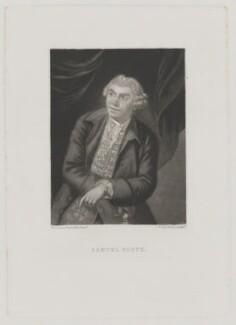 Samuel Foote, by Samuel William Reynolds, after  Sir Joshua Reynolds - NPG D37710