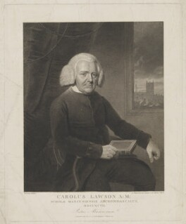 Charles Lawson ('Carolus Lawson'), by and published by James Heath, after  William Marshall Craig - NPG D37222