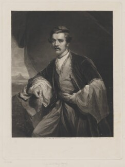 Sir Austen Henry Layard, by Samuel William Reynolds Jr, after  Henry Wyndham Phillips - NPG D37226
