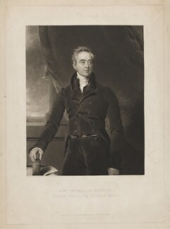 Sir Thomas Le Breton, by Charles Turner, published by  Colnaghi, Son & Co, after  Sir Thomas Lawrence - NPG D37231