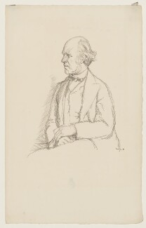 (William) Edward Hartpole Lecky, by William Rothenstein - NPG D37232