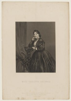 Carlotta Leclercq, by William Wolfe Alais, published by  Illustrated News of the World - NPG D37233