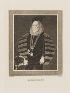 Sir Henry Lee, by James Basire, after  Moses Griffith - NPG D37237
