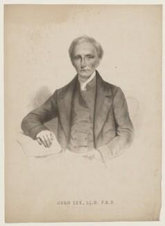 Probably John Lee (né Fiott), after Charles L. Gow - NPG D37239