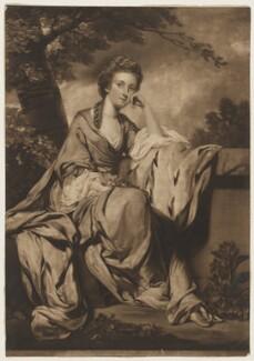 Lady Elizabeth Lee, by and published by Edward Fisher, after  Sir Joshua Reynolds - NPG D37249