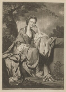 Lady Elizabeth Lee, by and published by Edward Fisher, after  Sir Joshua Reynolds - NPG D37250