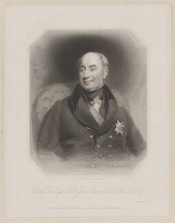 James Ochoncar Forbes, 18th Lord Forbes, by Joseph Brown, printed by  Wilkinson & Dawe, published by  Henry Thomas Ryall, published by  James Fraser, published by  Sir Francis Graham Moon, 1st Bt, after  Benjamin Rawlinson Faulkner - NPG D37717