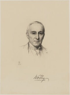 Reginald Earle Welby, Baron Welby, after Henry Tanworth Wells - NPG D37633