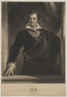 Sir William Forbes, 7th Bt, by William James Ward, after  George Sanders (Saunders) - NPG D37725