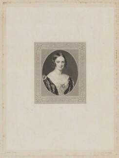 Elizabeth (née Cotgrave), Lady Forbes, by Frederick Christian Lewis Sr, after  Sir William Charles Ross - NPG D37726