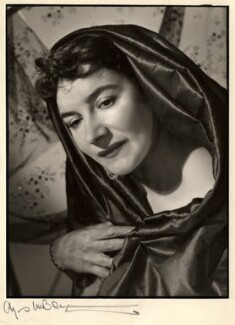 Myra Verney, by Angus McBean - NPG x39401