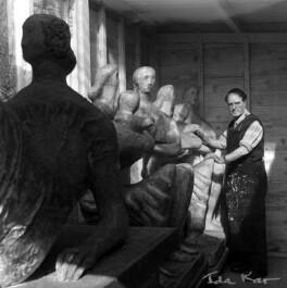Henry Moore, by Ida Kar - NPG x88723