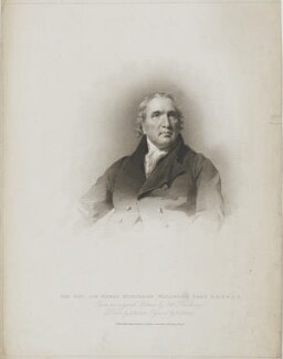 Sir Henry Moncreiff-Wellwood, 8th Bt, by Edward Scriven, published by  T. Cadell & W. Davies, after  John Jackson, after  Sir Henry Raeburn - NPG D37643