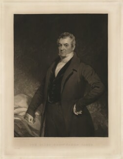 James Parke, 1st Baron Wensleydale, by and published by William Walker, after  Thomas Phillips, published 5 July 1847 - NPG D37647 - © National Portrait Gallery, London