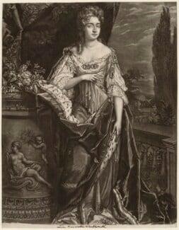 Henrietta Maria Wentworth, 6th Baroness Wentworth, by Robert Williams, after  Sir Godfrey Kneller, Bt - NPG D37649