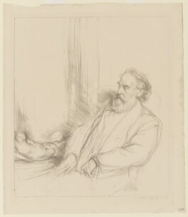 Alphonse Legros, by Charles Haslewood Shannon - NPG D37263