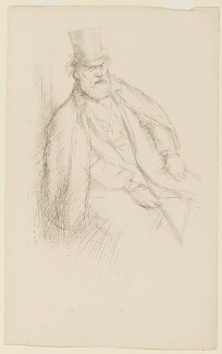 Alphonse Legros, by William Rothenstein - NPG D37264