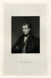 William Jerdan, by Thomas Woolnoth, after  J. Moore - NPG D37810