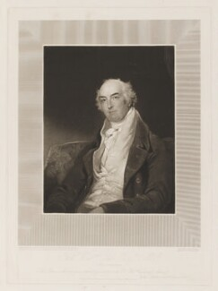 Thomas William Coke, 1st Earl of Leicester of Holkham, by and published by Charles Turner, after  Sir Thomas Lawrence, published 14 July 1819 (circa 1818) - NPG D37272 - © National Portrait Gallery, London