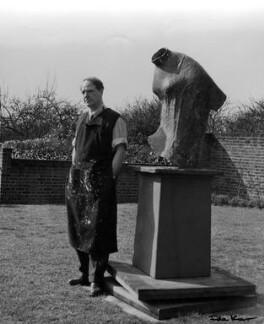 Henry Moore, by Ida Kar - NPG x88725