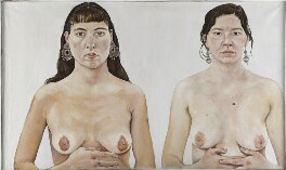 Ishbel Myerscough; Chantal Joffe ('Two Girls'), by Ishbel Myerscough - NPG 6959