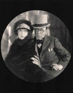 Hazel Lavery; Sir John Lavery, by E.O. Hoppé - NPG x132912