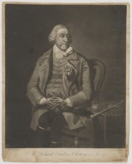 Richard Ford, by E.W.A., after  Thomas Lawranson, published 1 November 1774 - NPG D37728 - © National Portrait Gallery, London