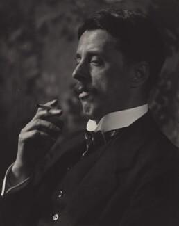 Arnold Bennett, by E.O. Hoppé - NPG x132919