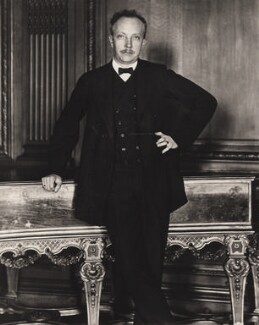 Richard Georg Strauss, by E.O. Hoppé - NPG x132917
