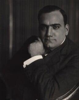 Enrico Caruso, by E.O. Hoppé - NPG x132914