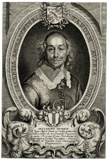 Baron Alexander Erskein, by Cornelis Galle the Younger, after  Anselmus Hebbelynck - NPG D37659