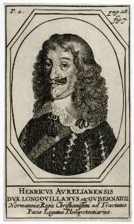 Henri II d'Orléans, duc de Longueville, by Unknown artist - NPG D37672