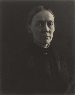 Eleanor ('Nora') Mildred Sidgwick (née Balfour), by Eveleen Myers (née Tennant) - NPG x132923