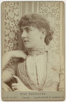 May Fortescue (née Finney), by Elliott & Fry - NPG x132926