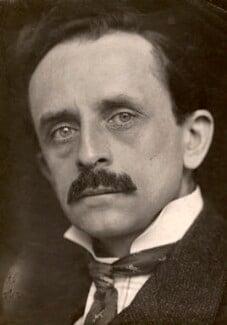 J.M. Barrie, by George Charles Beresford - NPG x228